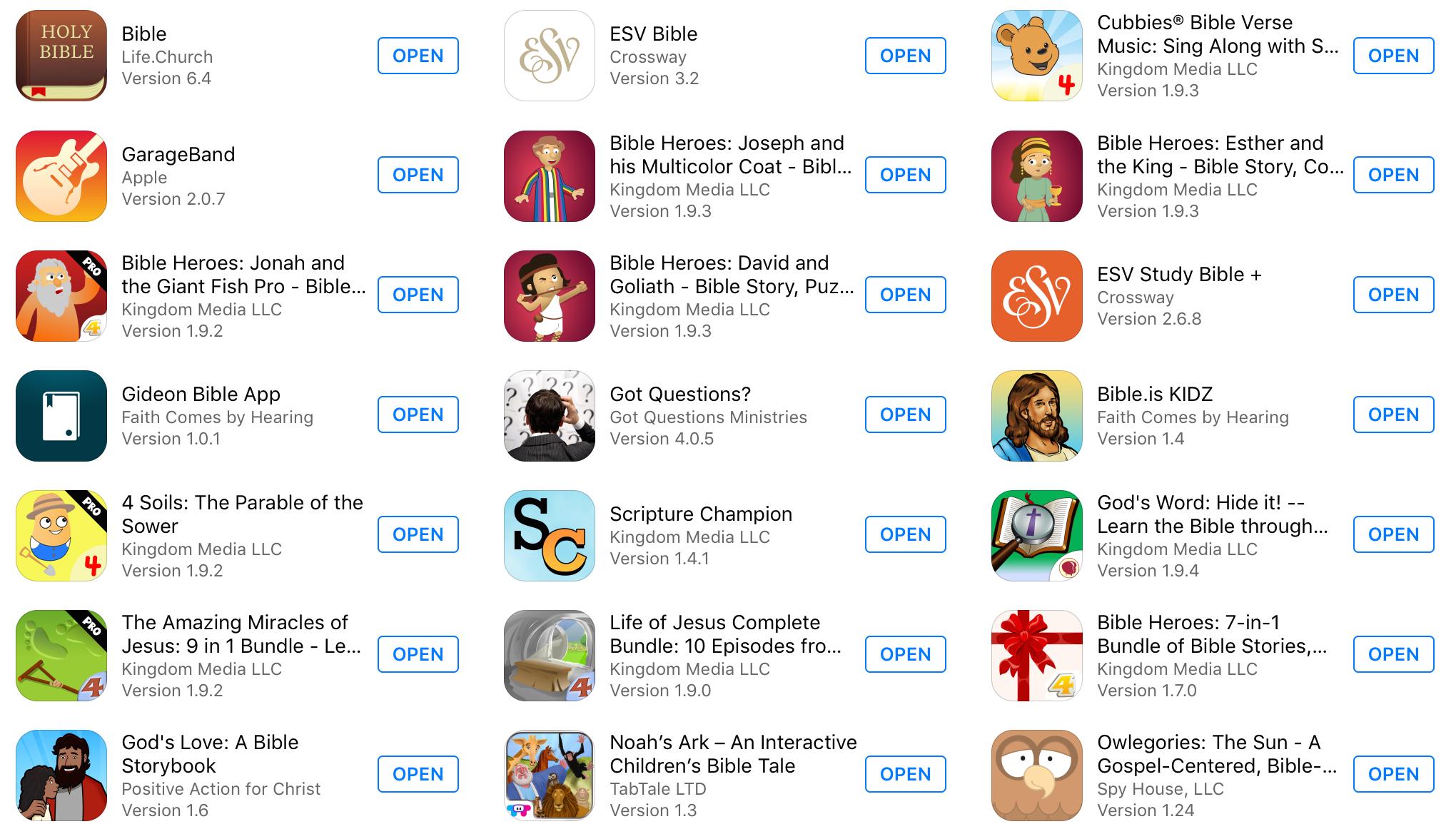 Best Children's Bible Apps — Trustworthy Word