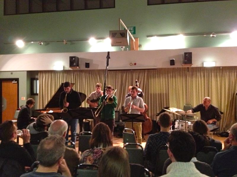 Harry Bolt Septet with  Jeff Ballard  at Birmingham conservatoire