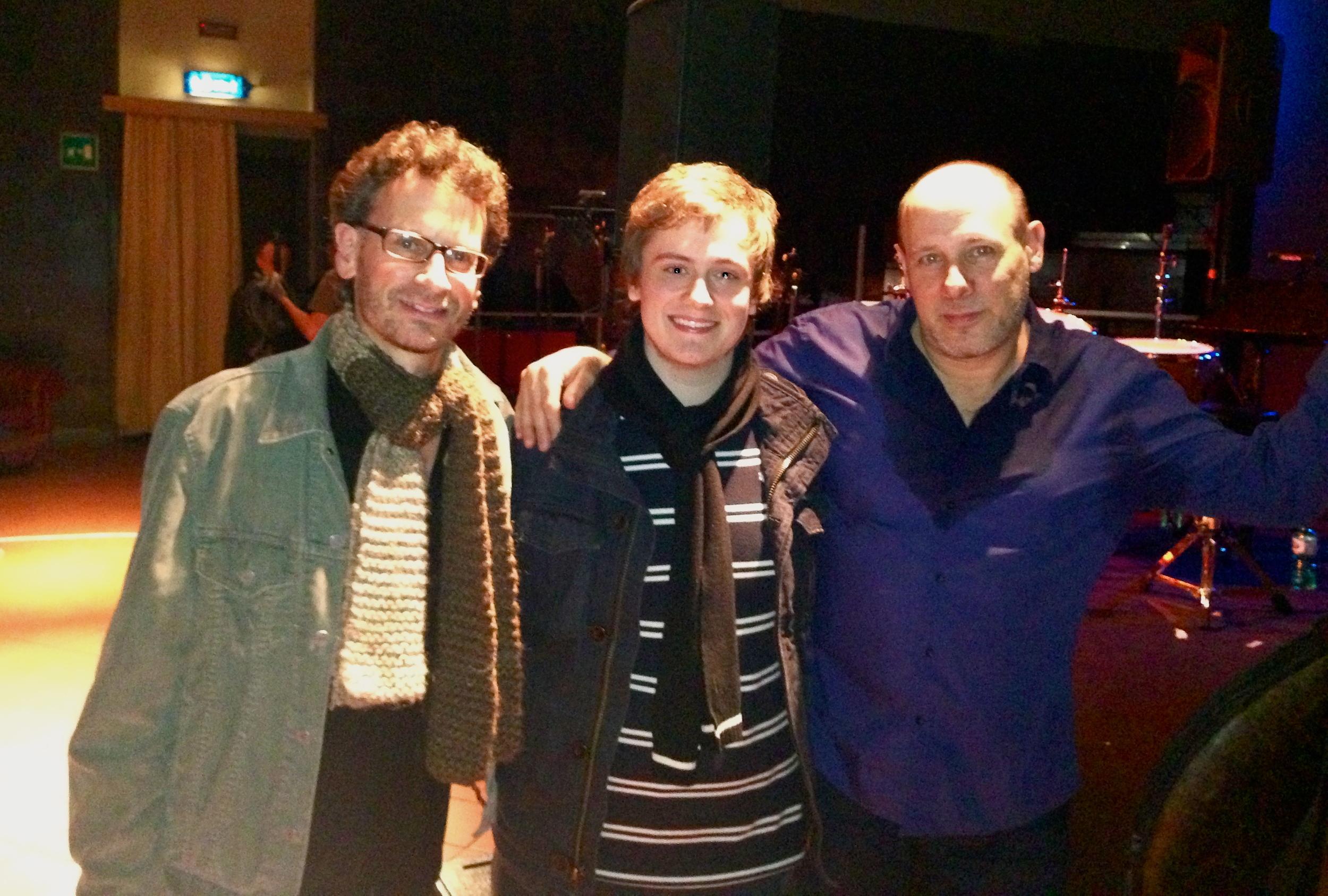 "Harry Bolt with Jeff Ballard and Larry Grenadier. ""The Harry Meldau Trio"""