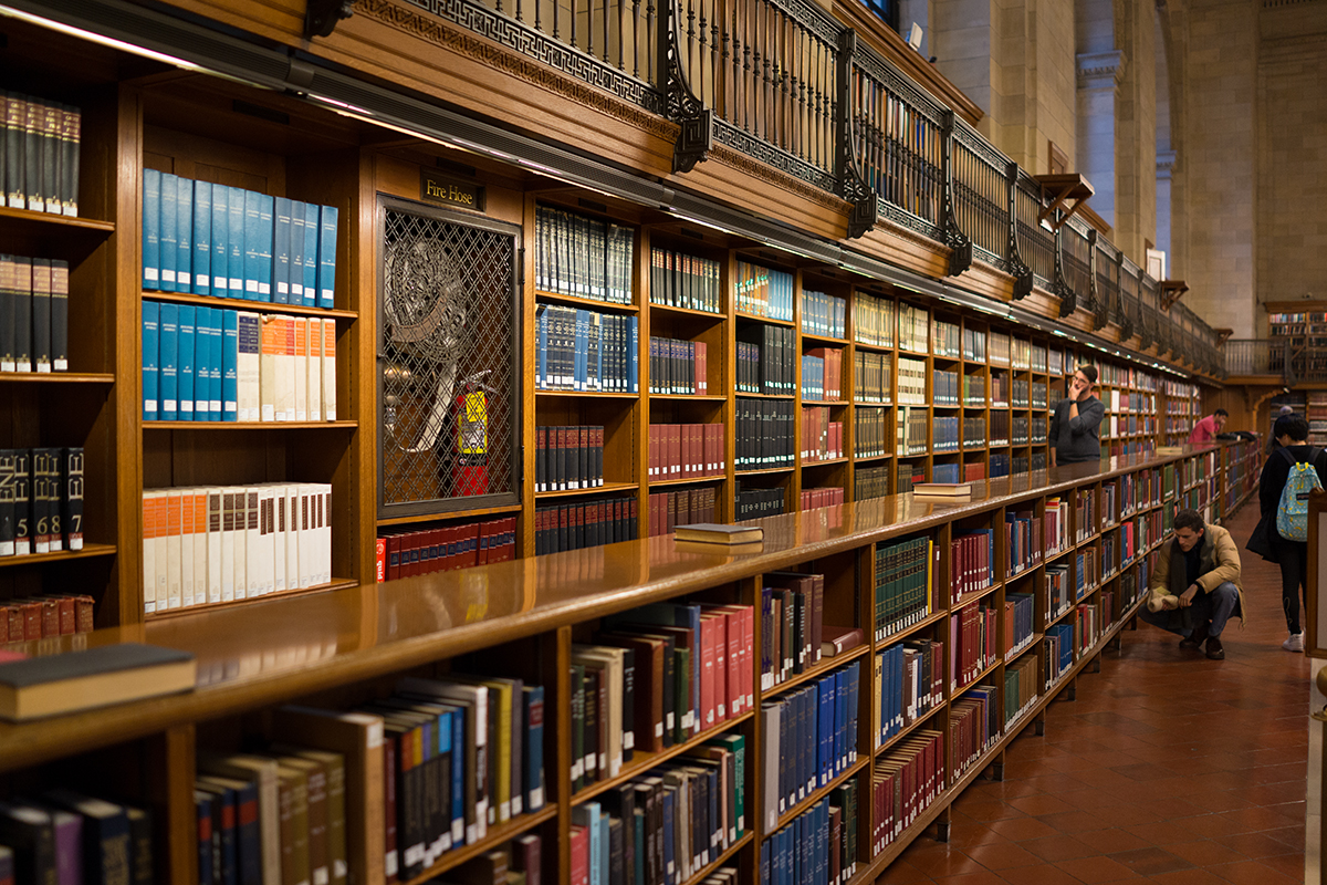 Sony RX1 - New York City Library