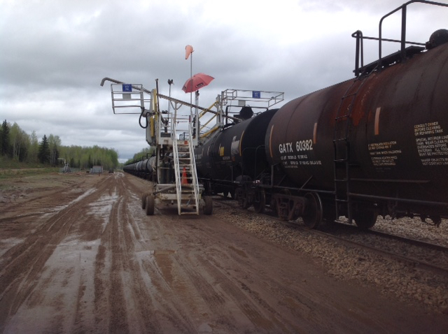 Inter- Chem Sulphur Transload , Conklin, Alberta