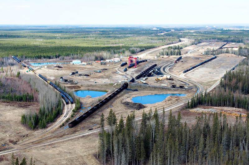 Altex Energy Oil Transload, Lynton Intermodal Fort McMurray