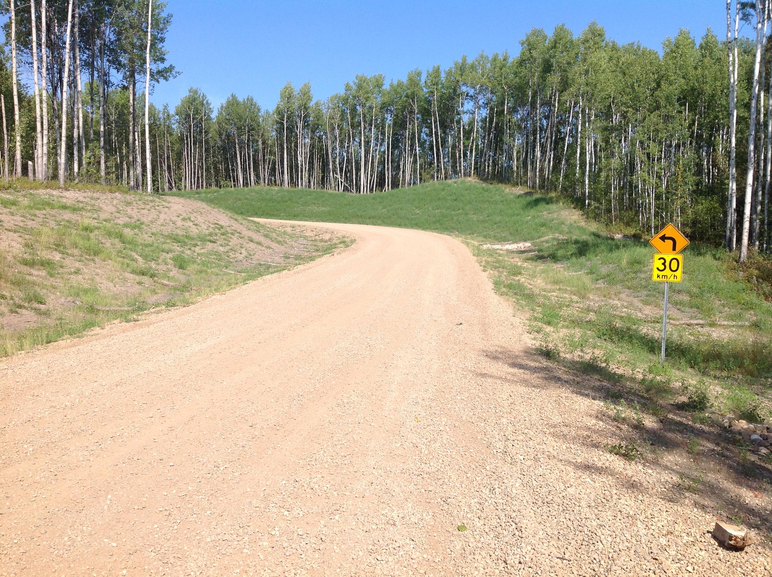 County of Thorhild Emergency Access Road, Long Lake, Alberta