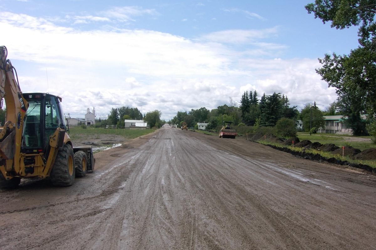 50 Street Road Upgrade - Ponoka, Alberta