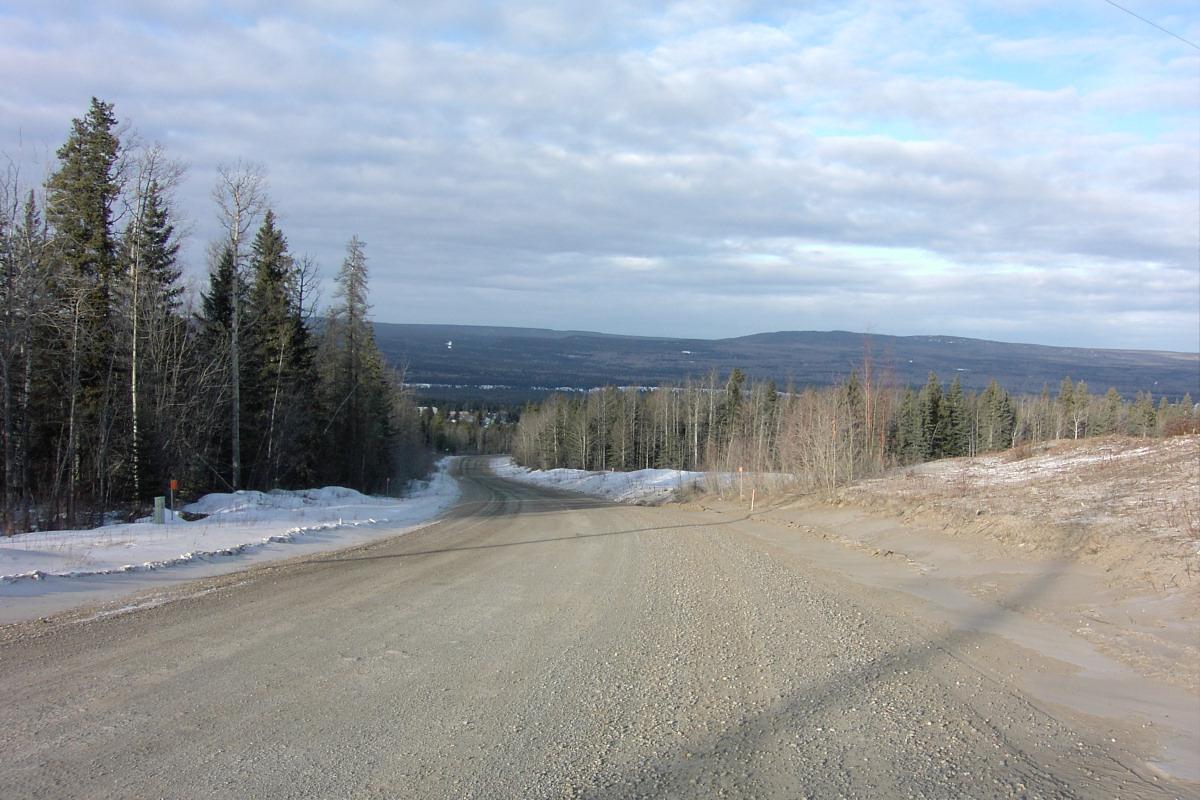 Robb Road Improvements, Hinton, Alberta