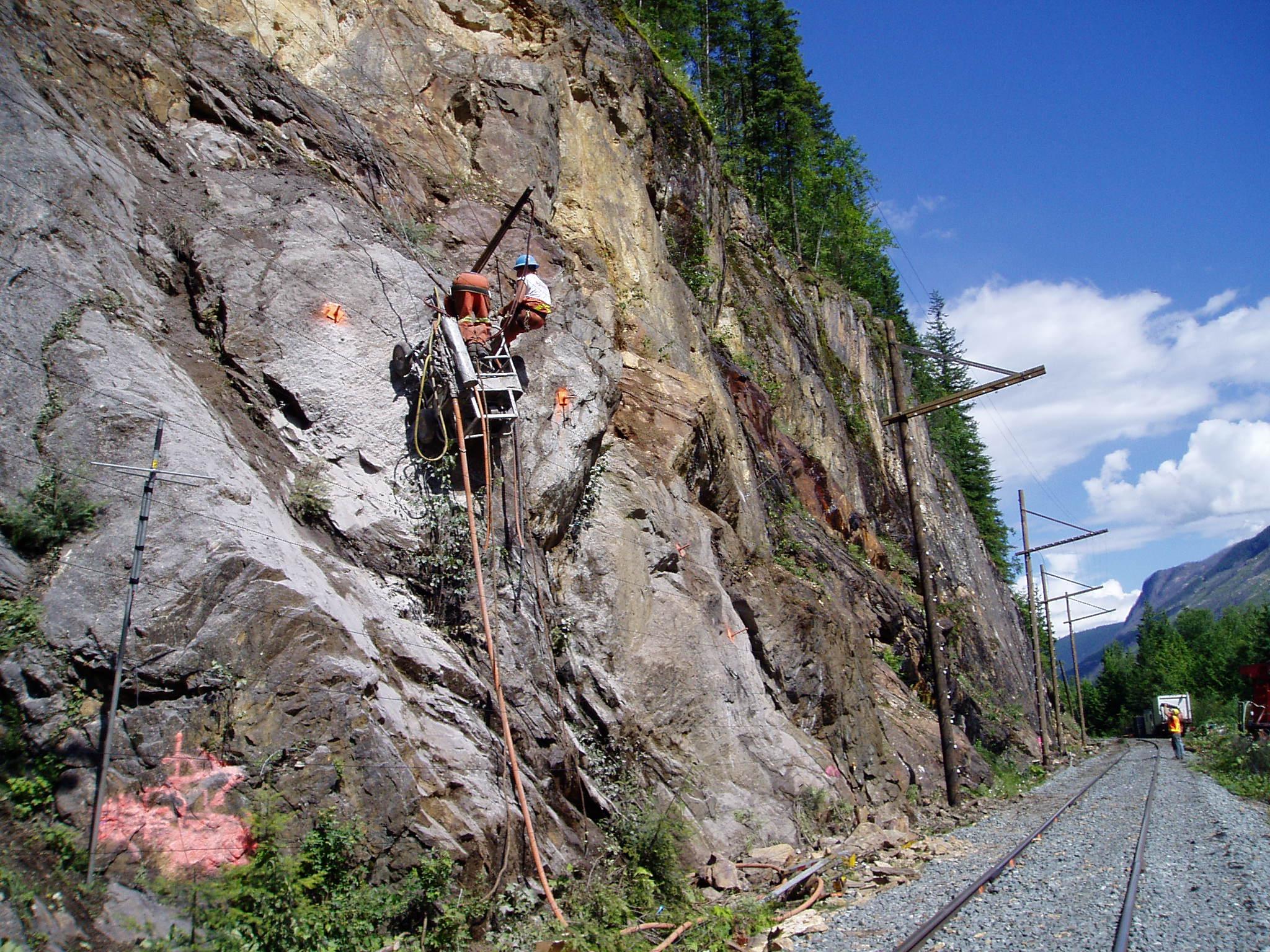 Belcourt Saxon Coal Project, Tumbler Ridge, British Columbia