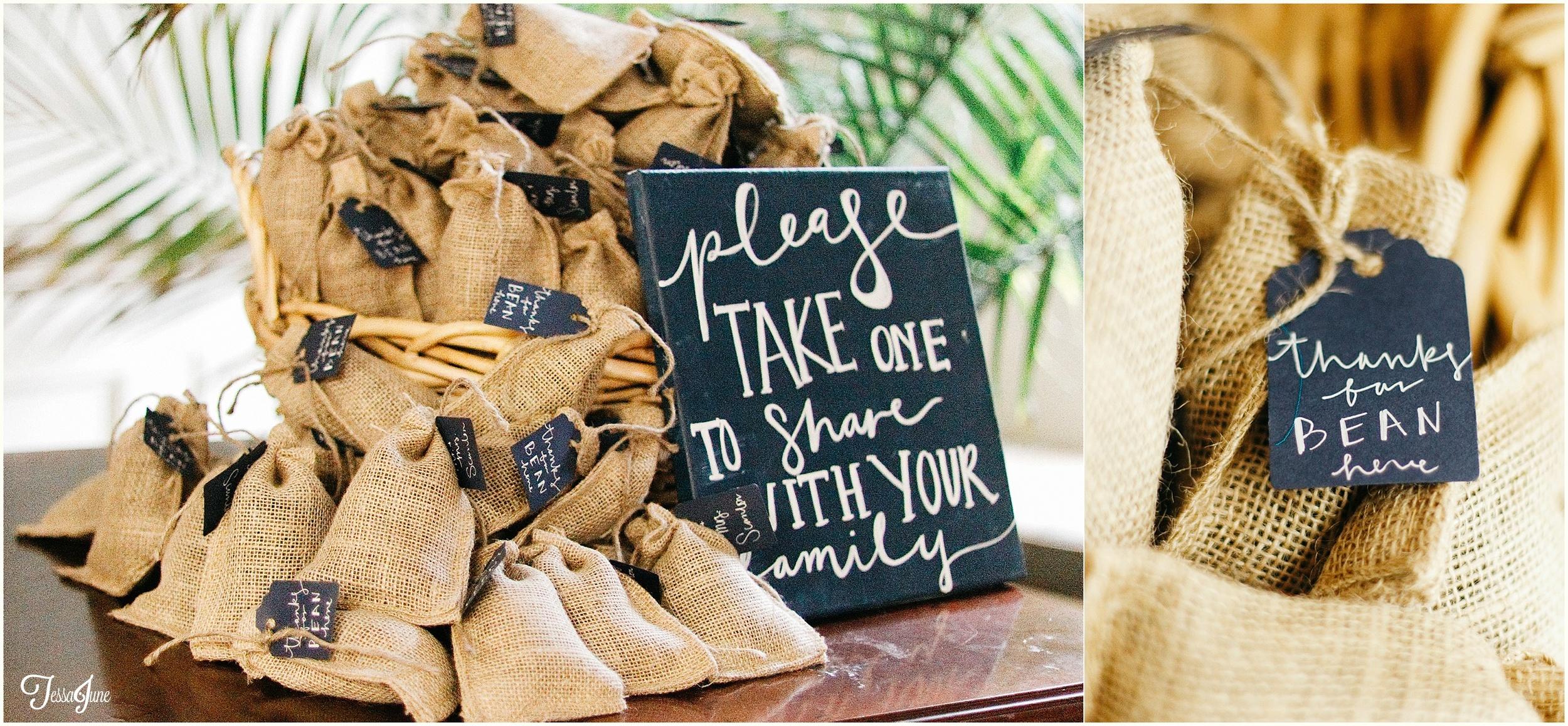 new-hope-minnesota-navy-wedding-coffee-bean-favor