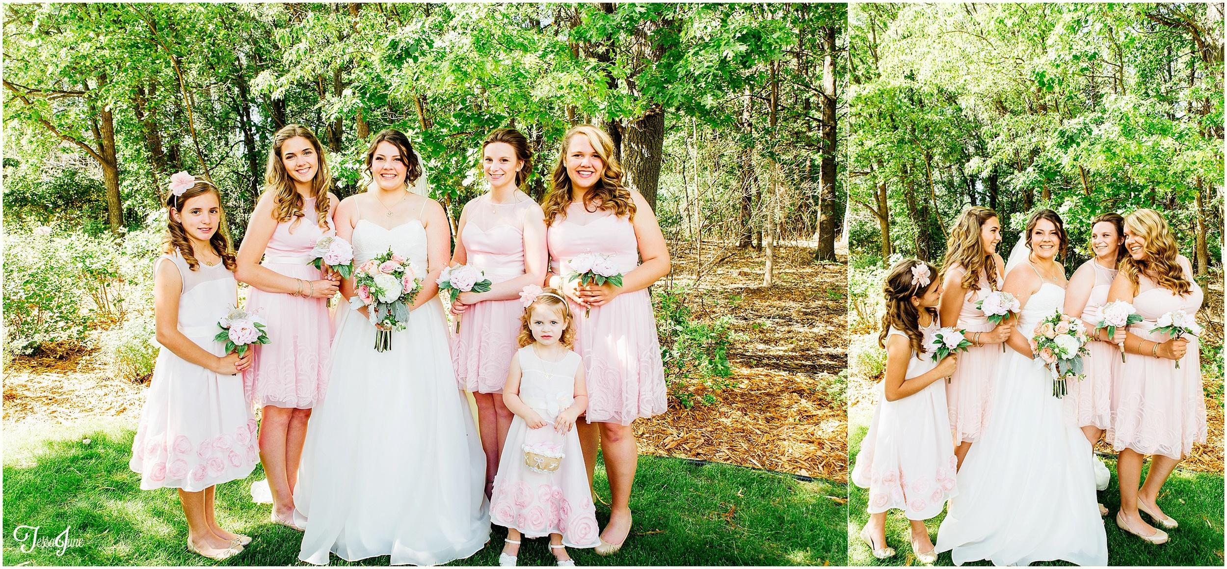 Rustic-petal-pink-coon-rapids-civic-center-wedding