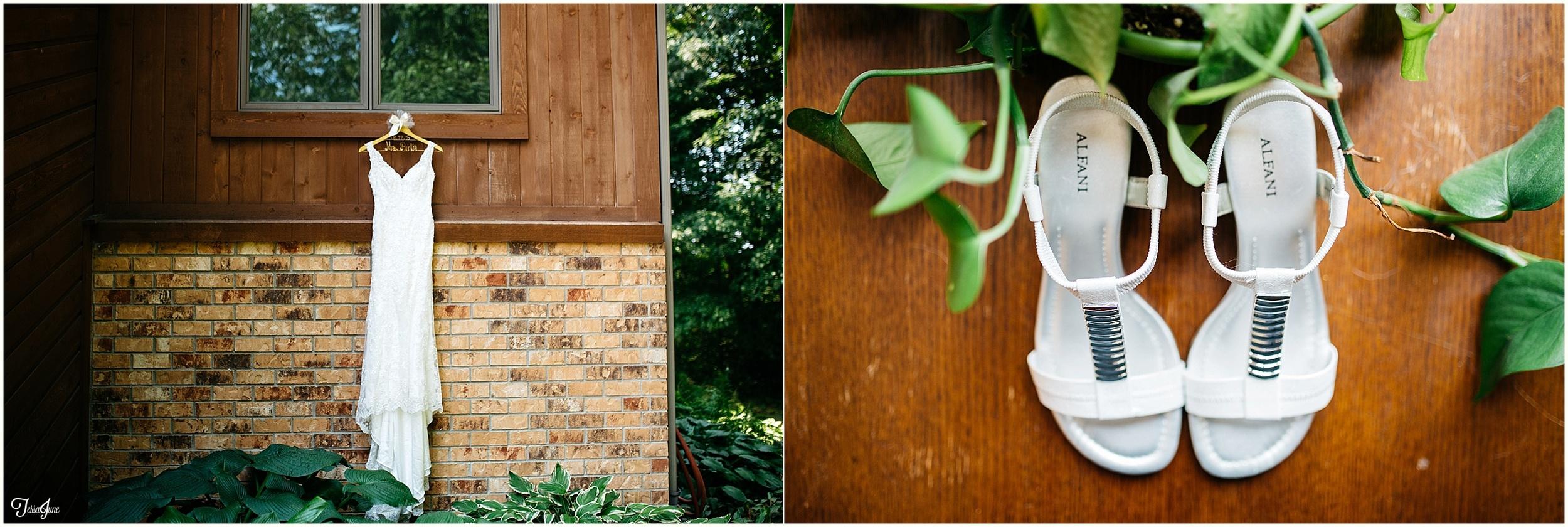 rochester-minnesota-bohemian-hippie-wedding-orange-bridesmaids-redwing-boots
