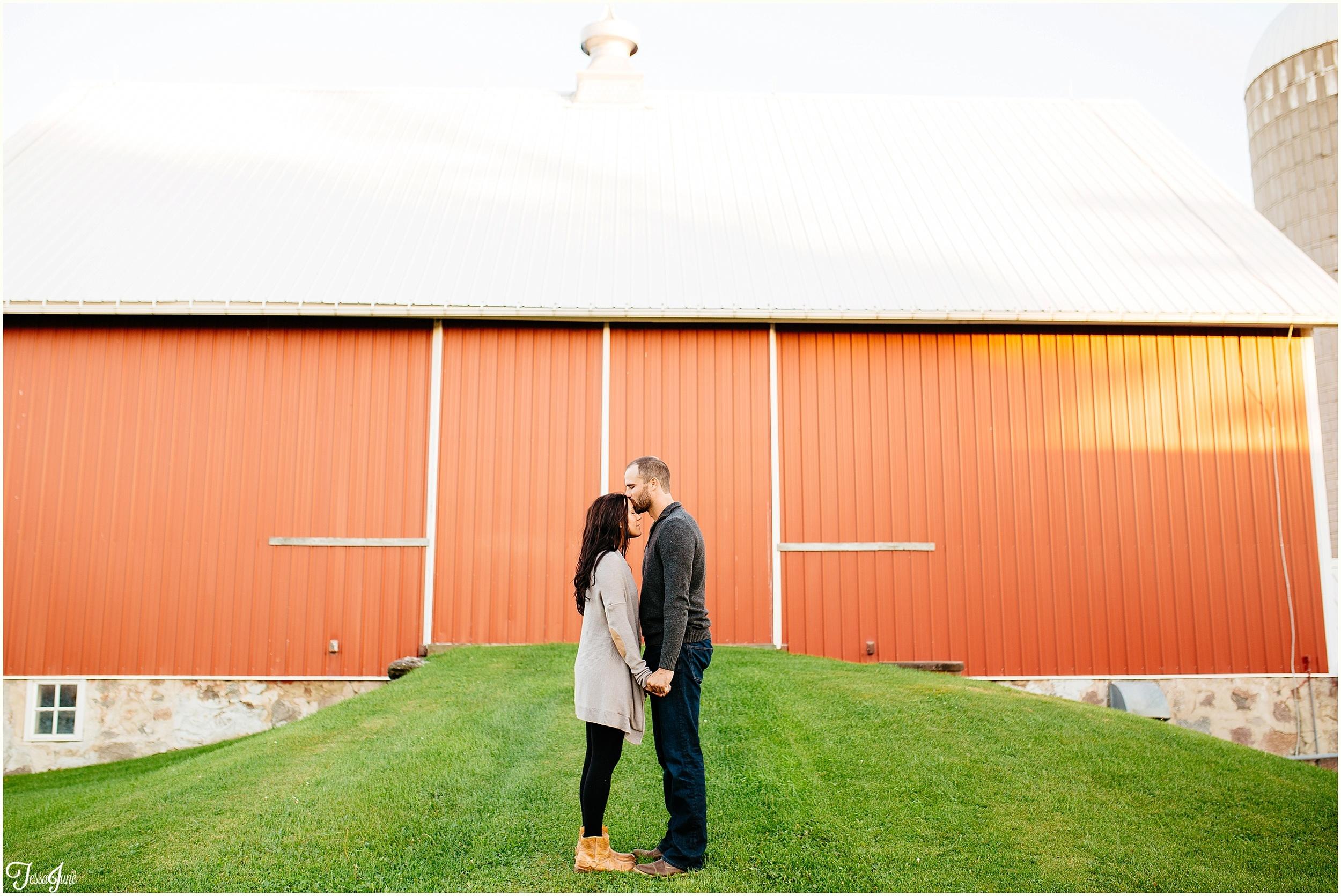 hamburg-st-cloud-minnesota-farm-barn-engagement-cornfield
