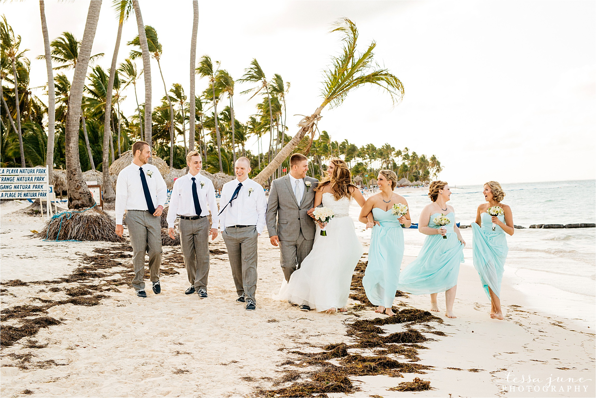 punta-cana-dreams-palm-beach-resort-destination-wedding-dominican-republic-bridal-party
