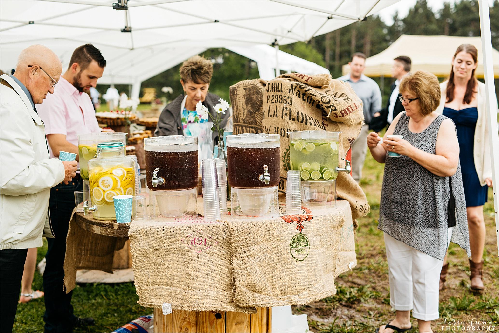 bohemian-forest-wedding-stillwater-minnesota-flower-crown-st-cloud-photographer-reception-beverage-station