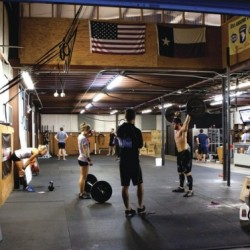 Throwback Thursday to 2011 at the Original Skyline CrossFit at 1224 Houston Ave.