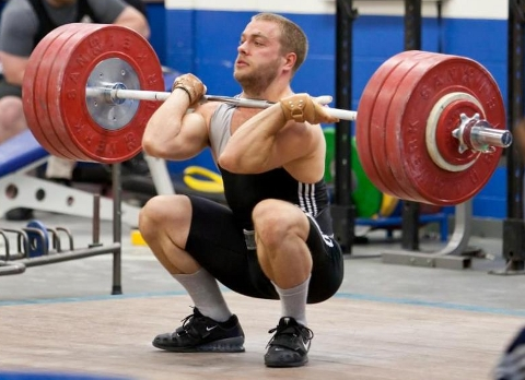 The positioning and mobility gained from Front Squats directly effects other movements we do in Cross Fit. The vertical torso and front rack position build efficiency in Full Cleans, Wall balls, and Thrusters.