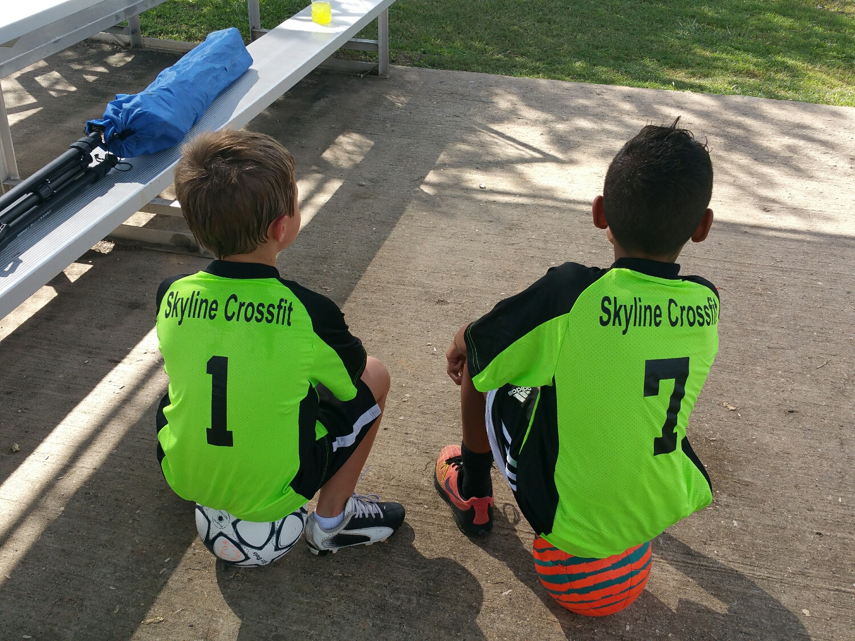 Green Dragons sponsored by Skyline!