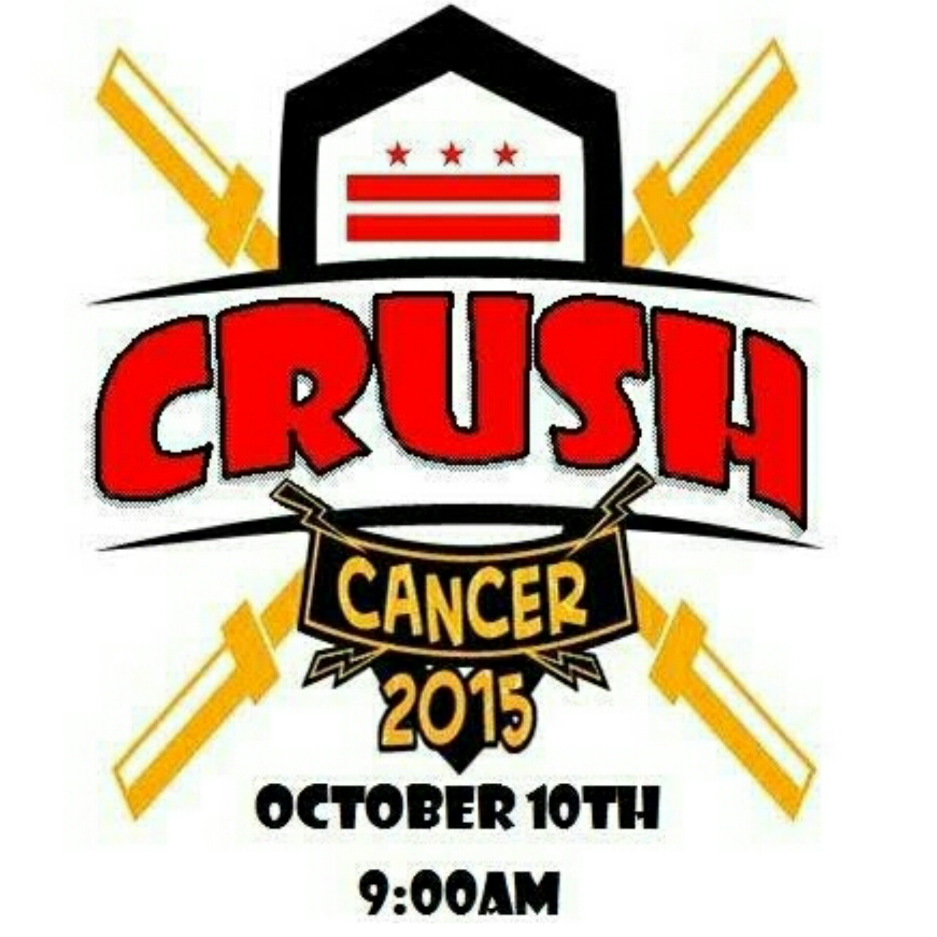 Saturday October 10th 9am  @Humble CrossFit  Cost $10 per person   HERE'S THE STORY:    Dogtown Crossfit wrote -   Cancer has touched all our lives, some of us, have lost loved ones. It's time to Crush Cancer.    Help find a cure for Cancer! In 2009, DogTown (then CrossFit Culver City) was the top fundraising affiliate for FIGHT GONE BAD 4 in the world, raising 64,000 dollars for Prostate Cancer, Research and the Wounded Warrior Foundation. In 2010, newly opened DogTown CrossFit, was the second leading fundraising affiliate in the world for FIGHT GONE BAD 5 with just over 53,000 dollars. Last year we raised over 50,000 in the first annual Crush Cancer event. Please donate, participate and help us find a Cure for Cancer.......!!!!    Workout:   3 Rounds- 1 min. Each Station.   - Power Clea  ns - Kettlebell Swings - Burpees - Shoulder to Overhead, - Double Unders Accumulate as many reps as possible  Cost will be $10 at the door.    EPIC WOD - EPIC CAUSE