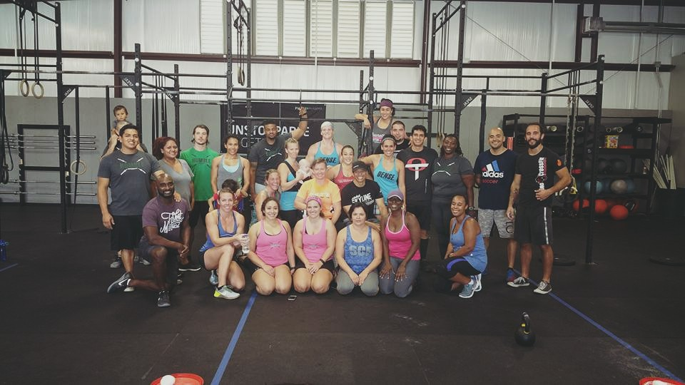 Thanks to all who showed up Saturday morning to help Crush Cancer at Humble CrossFit!