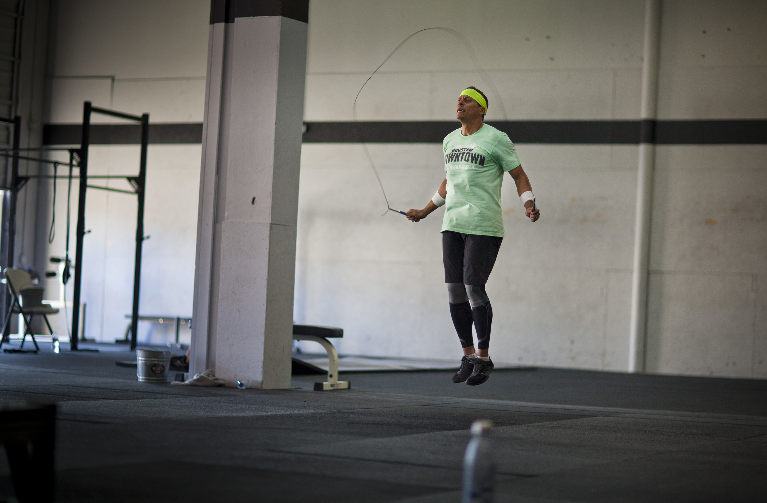 """Congrats Judge Carter from your friends at Skyline CrossFit. Judge Carter has been the leading advocate on mental health of our veterans coming home. With Veterans Day coming up I thought it would be fitting to honor someone who helps those who so desperately need our help. As one article put it:""""Judge Carter is a true champion for veterans' mental health,"""" said Susan Fordice, president and CEO of Mental Health America of Greater Houston. """"His work, strong voice and community involvement has helped to increase awareness and understanding of behavioral health conditions among veterans, encouraged changes in the criminal justice system, and helped to redefine the way communities address mental health in Harris County. It is a rare and special individual who makes this kind of commitment.""""  Thank you Judge Carter  From your Skyline Family  For more information I have attached an article that was featured on 60 minutes.  http://www.cbsnews.com/news/coming-home-justice-for-our-veterans/"""