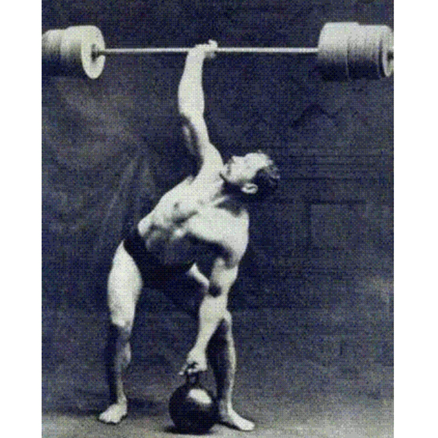 The one armed Snatch was an actual Olympic Lift in early 1900's.