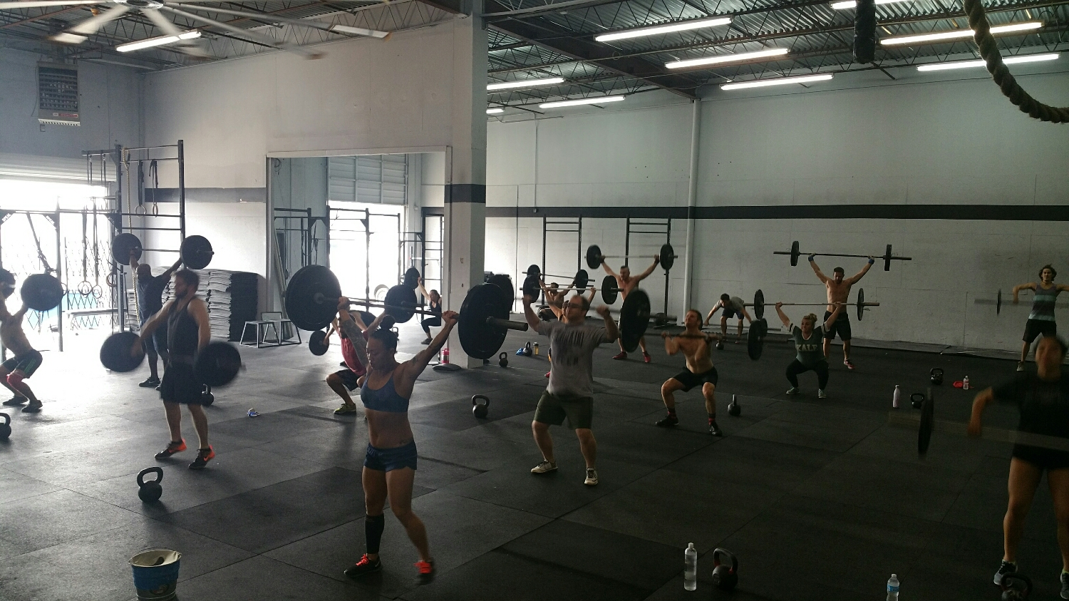12 Days of Christmas at Skyline CrossFit.