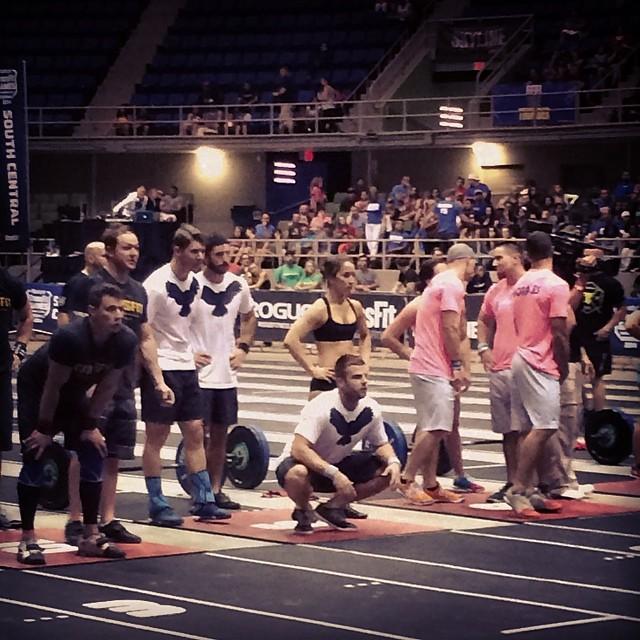 Skyline Regional Team at CrossFit Games Regionals.