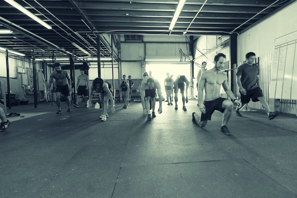 Memorial Weekend 2012, Original Skyline CrossFit Location