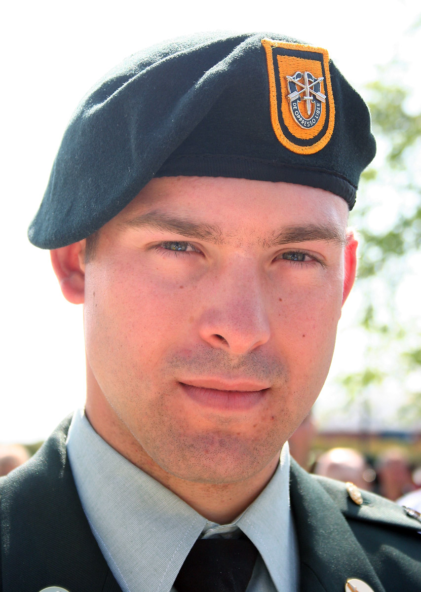 Army Staff Sgt. Jack M. Martin III, 26, of Bethany, Oklahoma, assigned to the 3rd Battalion, 1st Special Forces Group, Fort Lewis, Wash., died September 29th, 2009, in Jolo Island, Philippines, from the detonation of an improvised explosive device. Martin is survived by his wife Ashley Martin, his parents Jack and Cheryl Martin, and siblings Abe, Mandi, Amber and Abi.