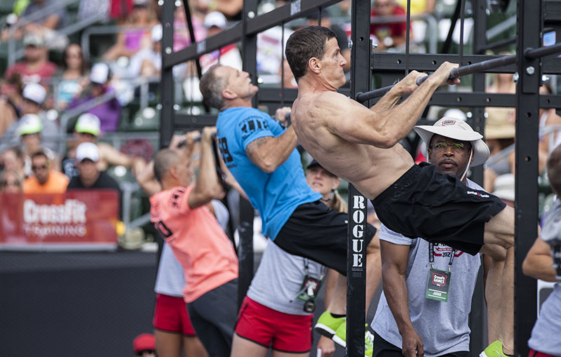 Masters and Teens kick off the first day of the CrossFit Games. You can watch it live here: http://games.crossfit.com