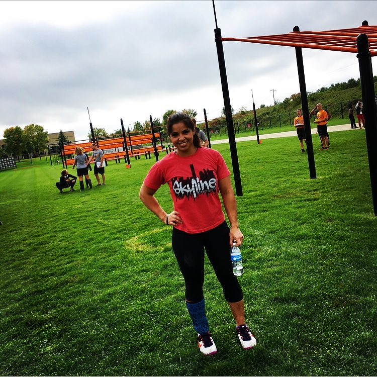 Crystal repping Skyline at Alpha Games in Minneapolis, MN.