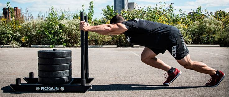 Prowler Sled Push.