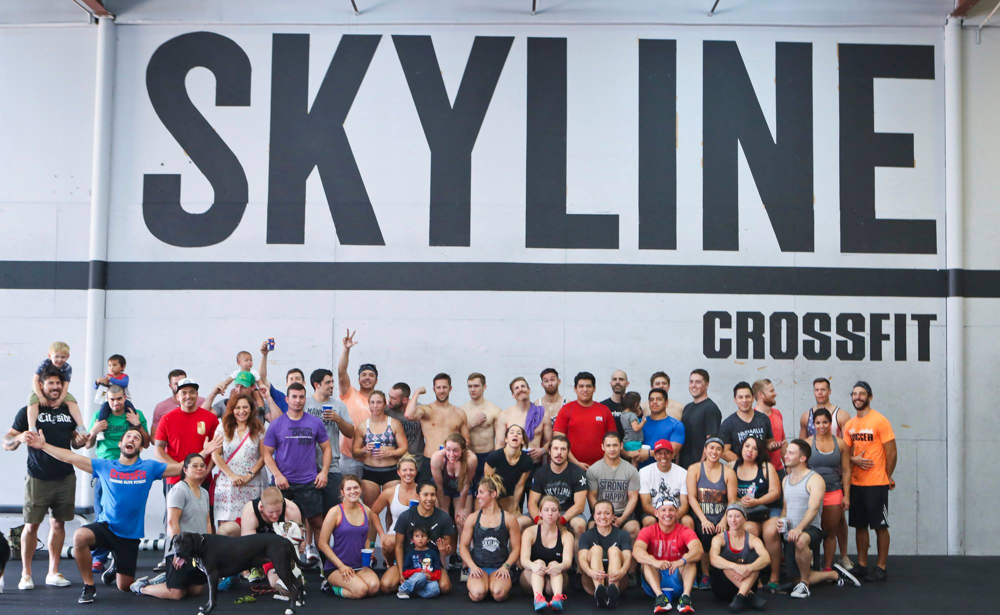 Group picture of last years 5 year anniversary. Tomorrow heats start at 9am!!