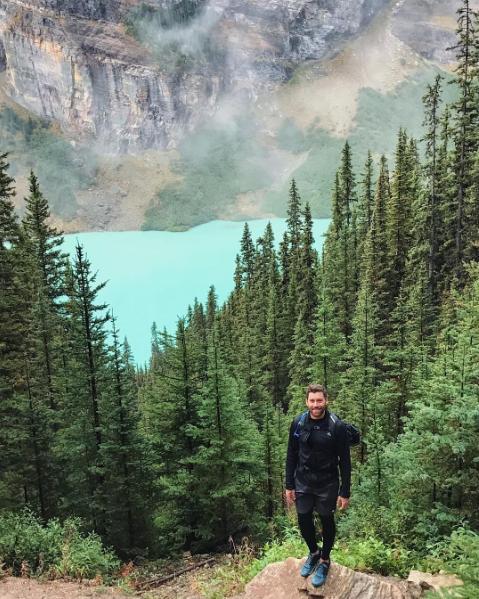 Skyline CF's Chad Carperter exporing beautiful forests in Alberta, Canada.