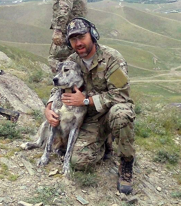 U.S. Army Captain David J. Thompson, 39, of Hooker, Oklahoma, commander of Operational Detachment Alpha 3334, Company C, 3rd Battalion, 3rd Special Forces Group (Airborne), based in Fort Bragg, North Carolina, was killed on January 29, 2010, while supporting combat operations in the Wardak Province of Afghanistan. Thompson is survived by his wife, Emily, their two daughters, Isabelle and Abigail, his parents, Charles and Freida, and his sister Alisha Mueller.