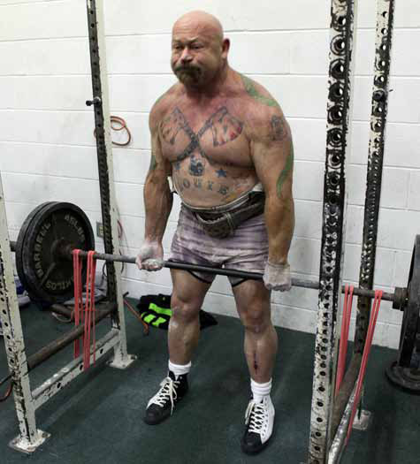 """""""There is no substitute for the Reverse Hyper"""". -Louie Simmons.  He invented the Reverse Hyperextension Machine after doctors said they were going to remove two discs from his back."""