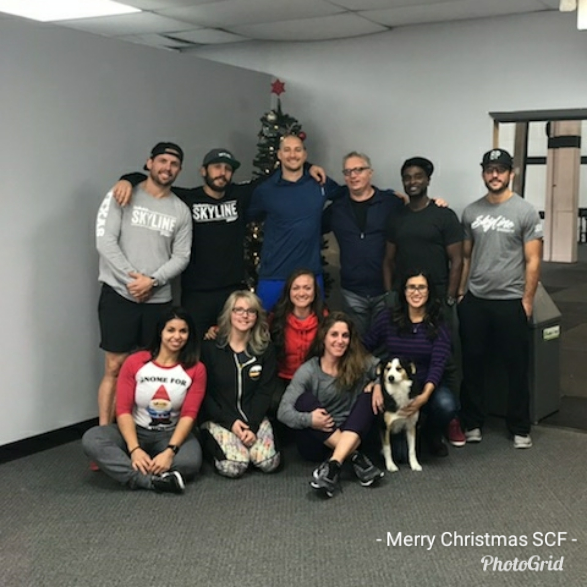 Merry Christmas from Skyline CrossFit!