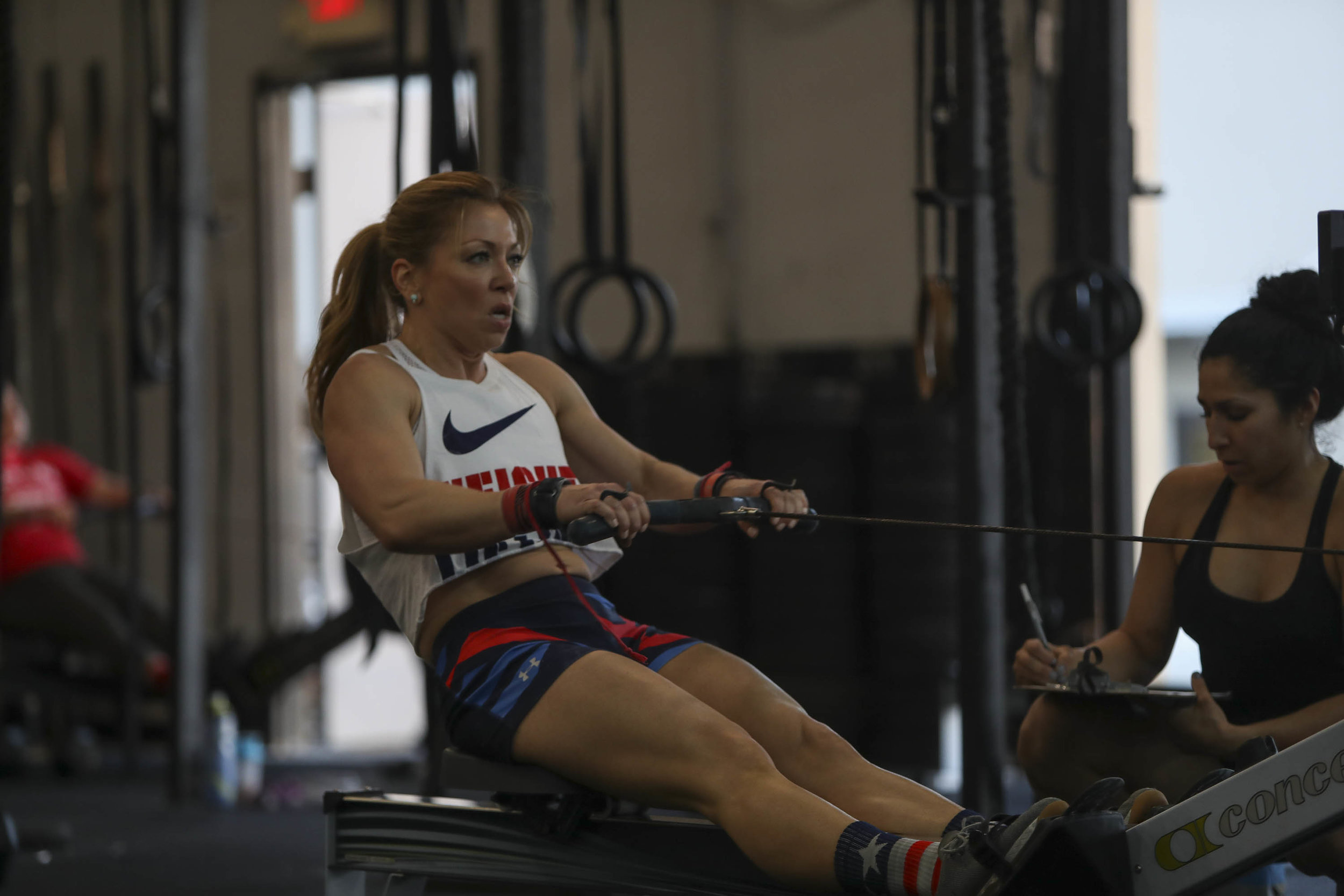 """Halvi's message to the Skyline Coaches:  """"I just realized that today is my 6 year crossfit anniversary. My fitness journey got so much better and fulfilling after I joined the skyline family. I've reached goals I never thought I could and continue to have the constant drive to reach higher than that because of coaches and friends like you. This is going to be a week for the memory books.""""  Thanks Halvi you are a great example of what Skyline CrossFit is all about! Positive, Patient, and Humble!"""