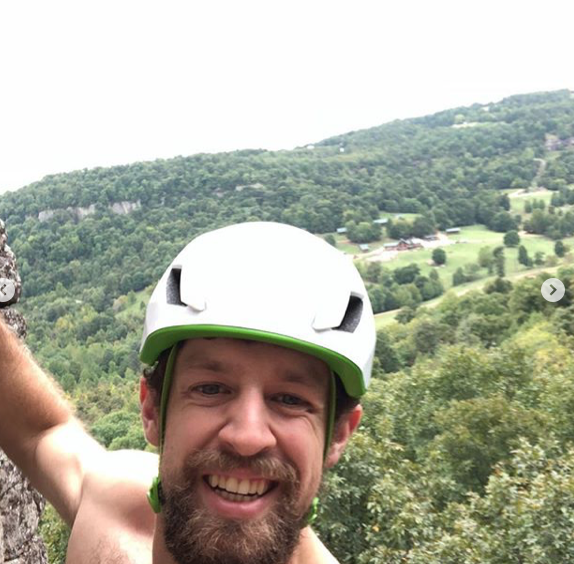 Skyline member David Boyea just hanging out at Horseshoe Canyon Guest Ranch.