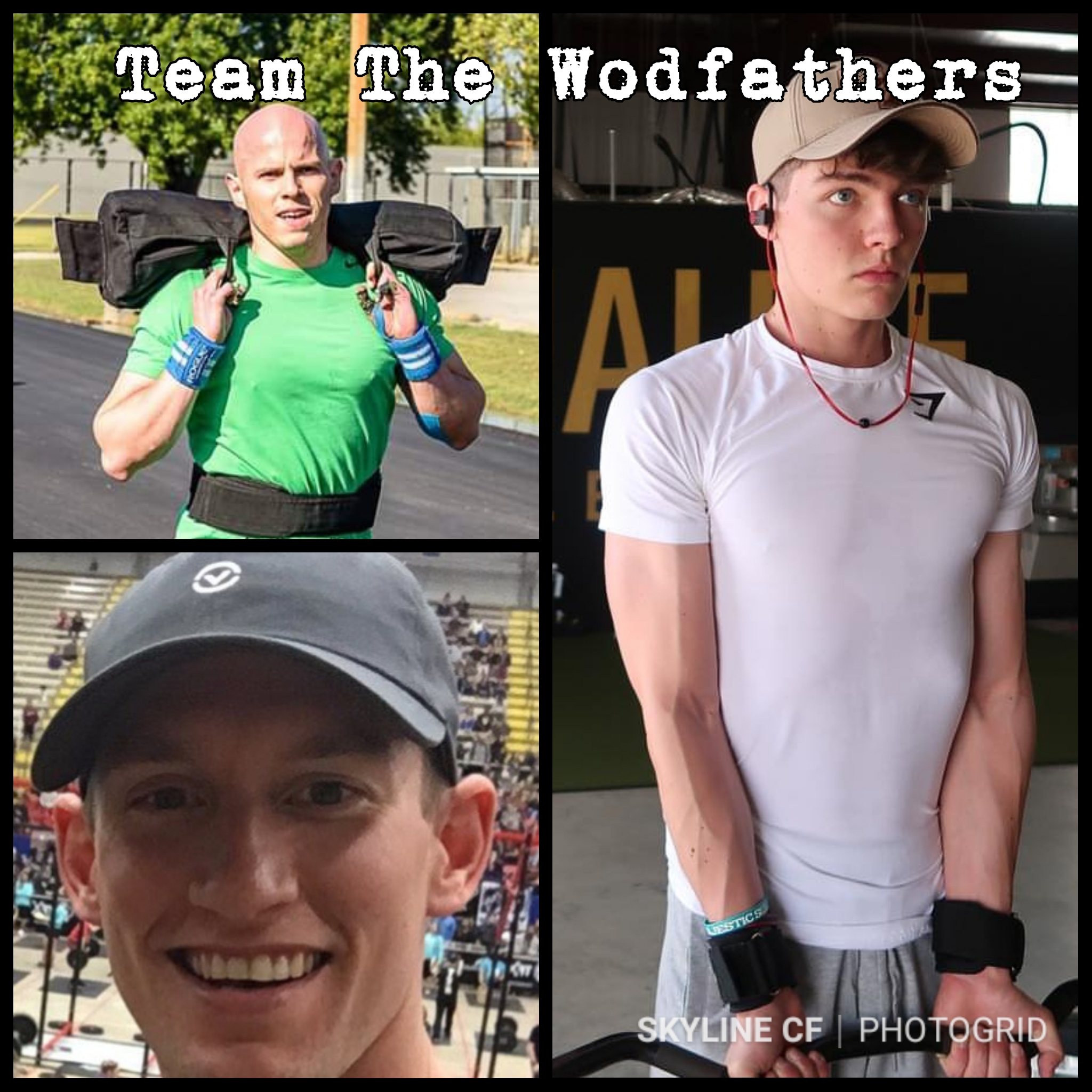 "Intermediate Mens Team ""The Godfathers"" consist of Francisco Gallegos, Mason Johnson, and Ryan Garihan."