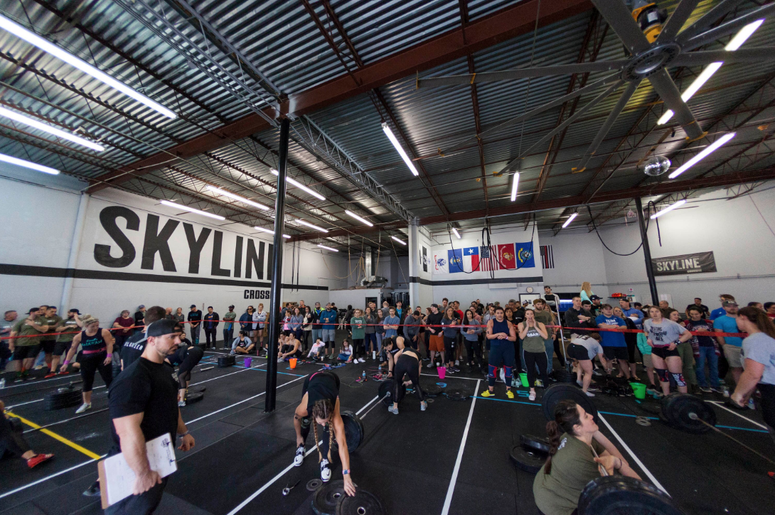 """""""Friday Night Lights"""" Partner Open In-house competition starts Feb 22nd. We will be attacking the CrossFit Open this year but this time your score will be you and your partner score combined. 3 divisions Scaled, Intermediate, and RX. All details and to sign up click here ."""