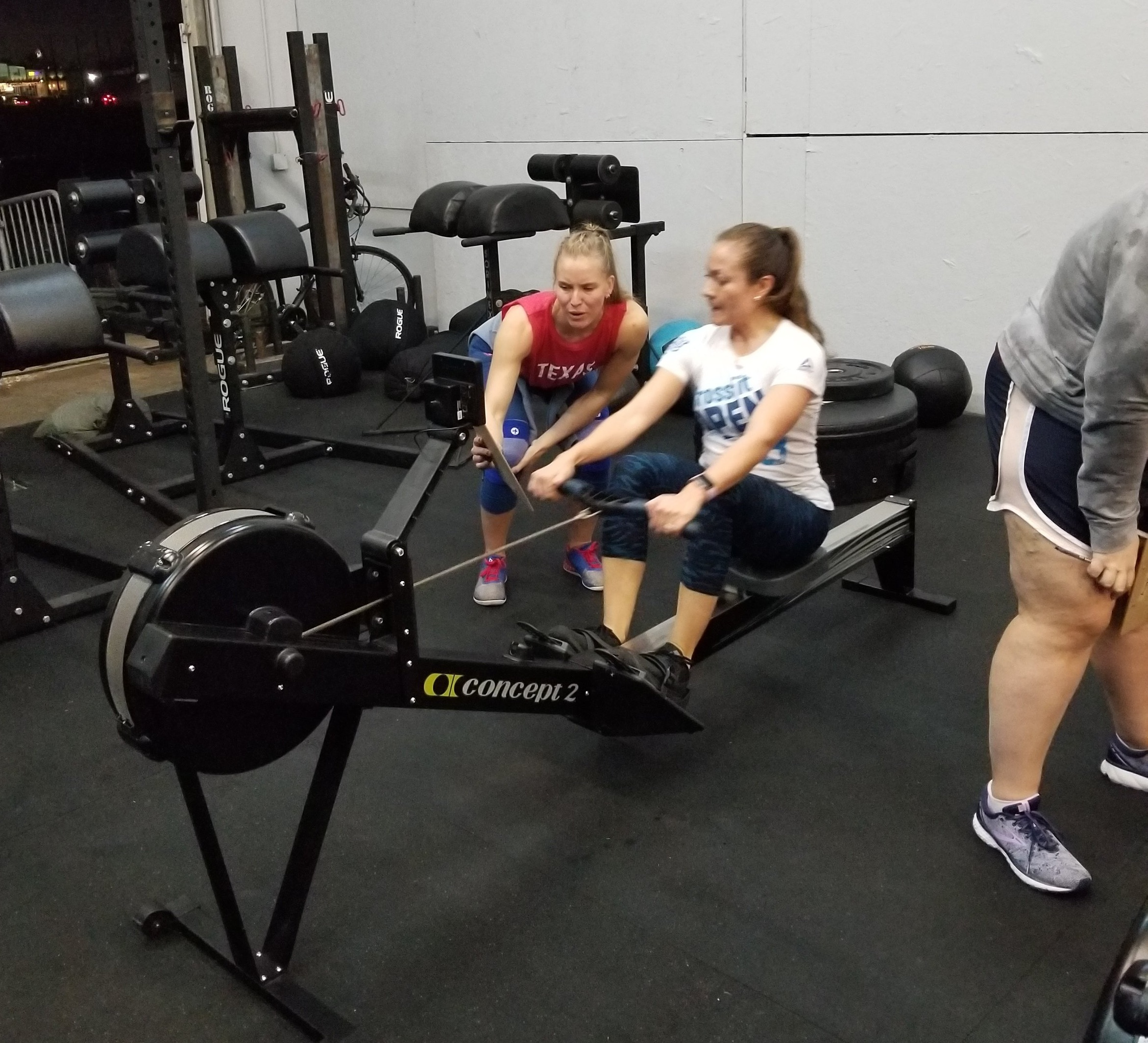 Congratulations to Isabel for completing her first workout post-surgery! It also happened to be the first workout of the 2019 Open! Nice job Isabel!