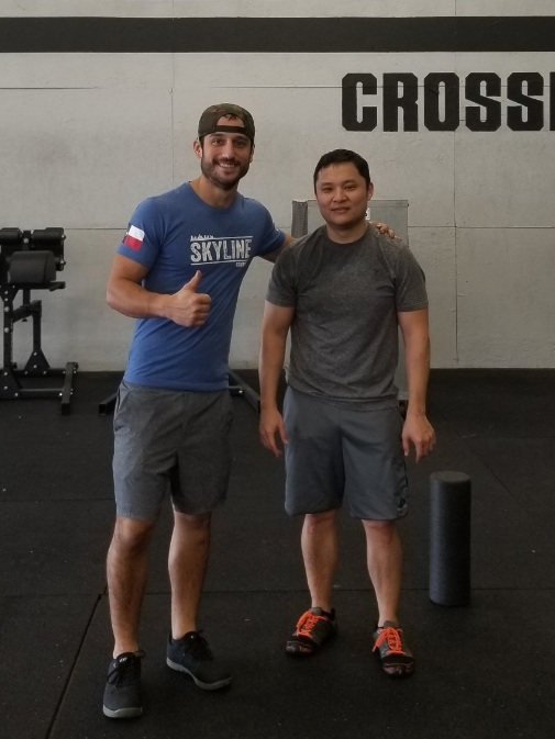 Welcome Will Kim to Skyline he successfully graduated foundations. Will frequents the 4pm and 5pm classes. If you see him make you sure you make him feel welcome!