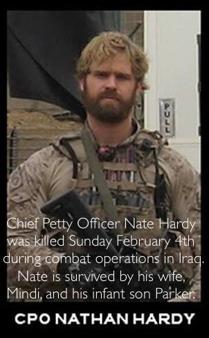 Todays Hero WOD is dedicated to the service and ultimate sacrifice of Nate Hardy.