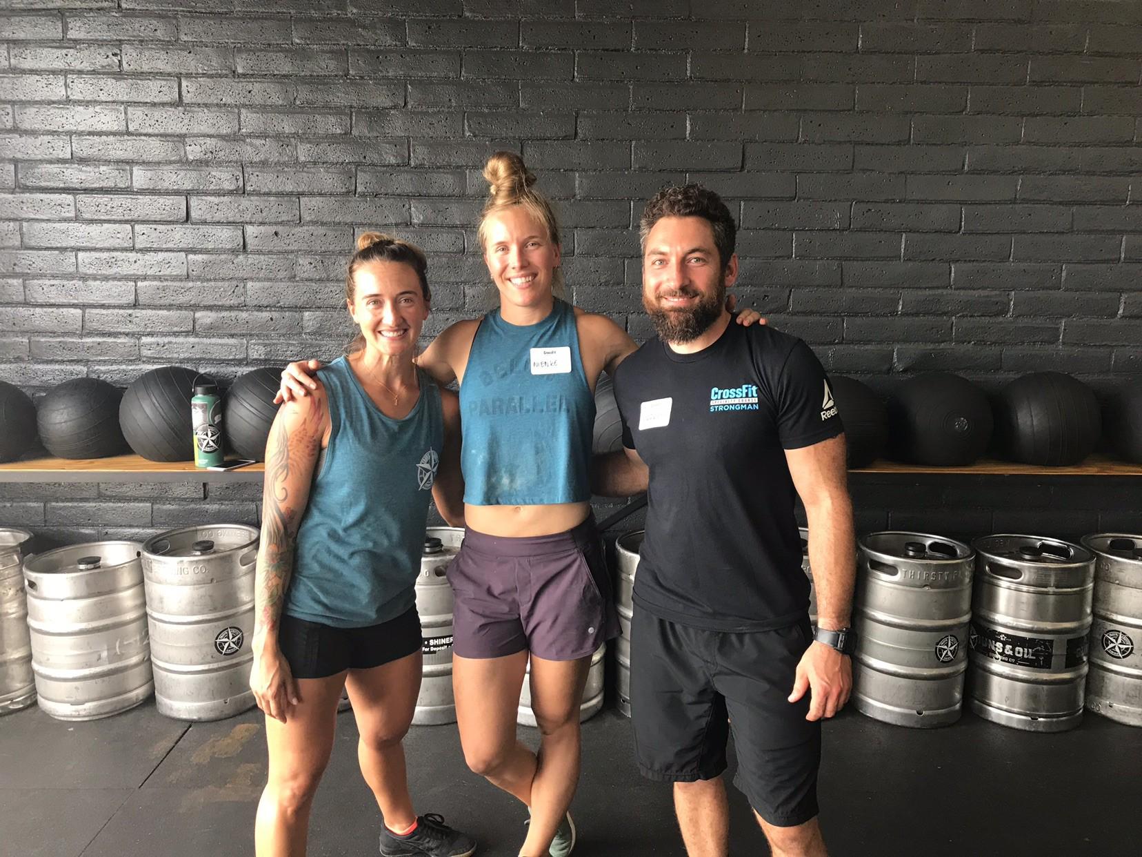 Nienke got her Strongman CrossFit Trainer certification over the weekend! Nice job Nienke!