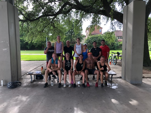 A fun group during the Park WOD this past Saturday!
