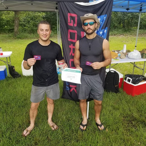 Congratulations to Coach Ryan and Garret Barrera on finishing 1st place on a 50mile ruck.  GPP (General Physical Preparedness)  is built in our gym.  GPP that is built in our walls enables you the freedom to do what you want when you want.  Great job guys!