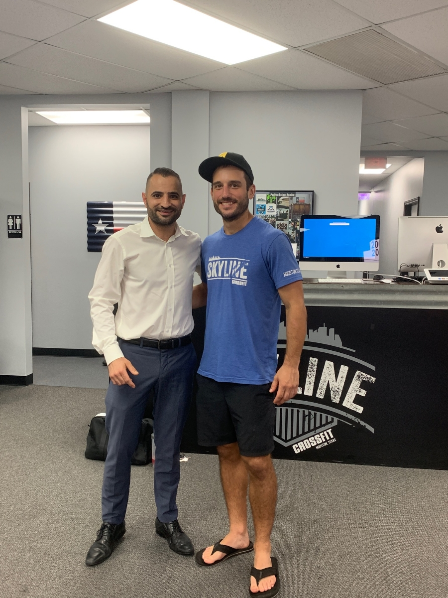 Welcome Ahmad Smadi to Skyline CrossFit. Ahmad just graduated foundations and now frequents the 5pm evening classes!