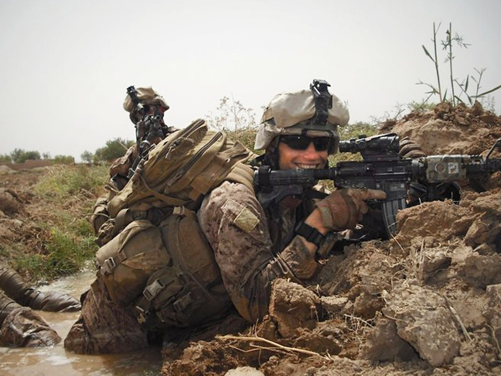 U.S. Marine Corps First Lieutenant James R. Zimmerman, 25, of Aroostook, Maine, assigned to 2nd Battalion, 6th Marine Regiment, 2nd Marine Division, II Marine Expeditionary Force, based in Camp Lejeune, North Carolina, died on November 2, 2010, while conducting combat operations in Helmand province, Afghanistan. He is survived by his wife Lynel Winters, parents Tom and Jane, sister Megan, and brother Christian.