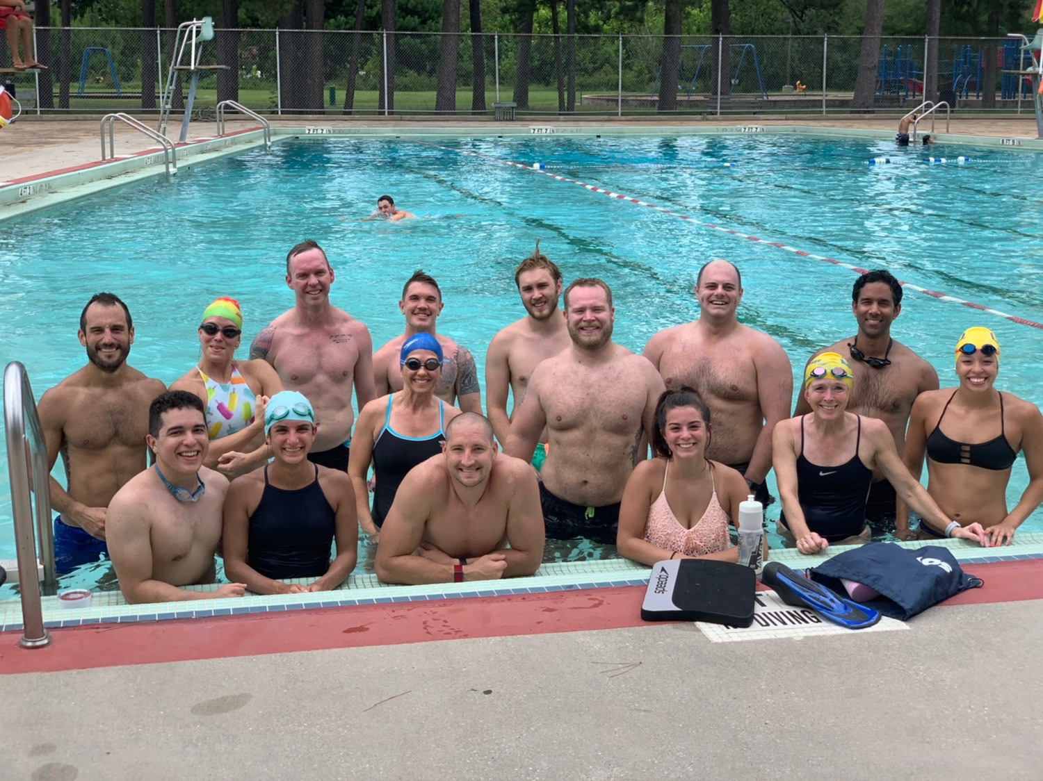 Swim WOD is growing! A great way to get fitness outside of the gym.