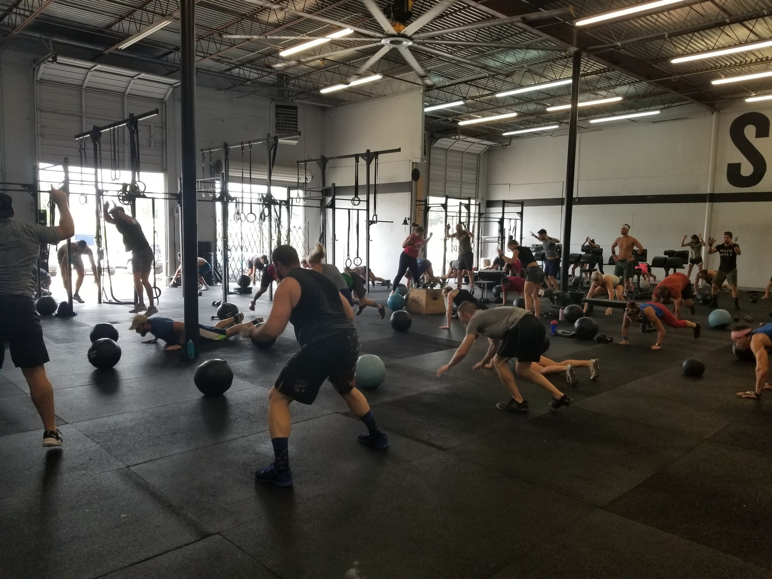 Burpees for everyone!