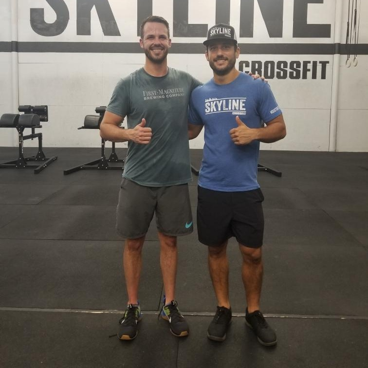 Congratulations to Zach on completing foundations and becoming a new member at Skyline CrossFit.